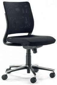 JOY J0114 to fotel pracowniczy. Posiada niskie, siatkowane oparcie. Fotel jest obrotowy i nie posiada podłokietników.<br />Podstawa fotela to...