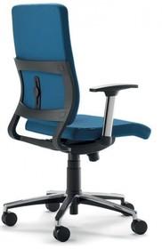 JOY JO002S to fotel gabinetowy. Posiada wysokie, tapicerowane oparcie. Fotel posiada mieszane (aluminium+nylon) podłokietniki.<br />Podstawa fotela to...