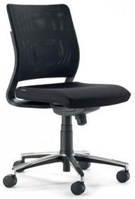 JOY JO111S to fotel pracowniczy. Posiada niskie, siatkowane oparcie. Fotel nie posiada podłokietników. Podstawa fotela to pięcioramienny krzyżak wykonany...