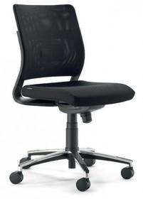 JOY JO101S to fotel gabinetowy. Posiada wysokie, siatkowane oparcie. Fotel nie posiada podłokietników.<br />Podstawa fotela to pięcioramienny...