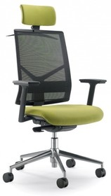 PLAY PL401S jest fotelem gabinetowym. Fotel posiada wysokie, siatkowane oparcie wyposażone w tapicerowany zagłówek 2D. Podstawa fotela to pięcioramienny,...