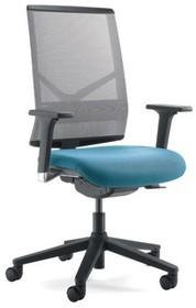 PLAY PL402S jest fotelem gabinetowym. Fotel posiada wysokie, siatkowane oparcie. Podstawa fotela to pięcioramienny, czarny, nylonowy krzyżak. Podstawa...