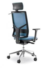 PLAY PL451S jest fotelem gabinetowym. Fotel posiada wysokie, tapicerowane oparcie wyposażone w tapicerowany zagłówek 2D. Podstawa fotela to...