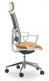 PLAY PL501S jest fotelem gabinetowym. Fotel posiada wysokie, siatkowane oparcie wyposażone w tapicerowany zagłówek 2D. Podstawa fotela to pięcioramienny...