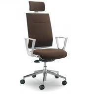 PLAY PL551S jest fotelem gabinetowym. Fotel posiada wysokie, tapicerowane oparcie wyposażone w tapicerowany zagłówek 2D. Podstawa fotela to...