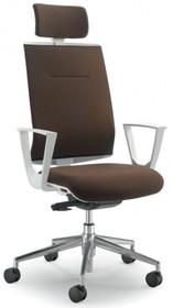 PLAY PL551S jest fotelem gabinetowym. Fotel posiada wysokie, tapicerowane oparcie wyposażone w tapicerowany zagłówek 2D. Podstawa fotela to pięcioramienny...
