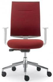 PLAY PL552S jest fotelem pracowniczym. Fotel posiada średniej wysokości, tapicerowane oparcie. Podstawa fotela to pięcioramienny krzyżak wykonany z...