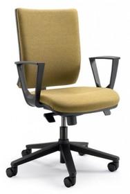 SPICE SP132S jest fotelem gabinetowym. Fotel posiada wysokie, tapicerowane oparcie. Podstawa fotela to pięcioramienny krzyżak wykonany z czarnego nylonu....