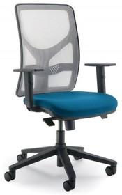 Y YP351SD jest fotelem gabinetowym. Fotel posiada wysokie, siatkowane oparcie oraz tapicerowane siedzenie Podstawa fotela to pięcioramienny krzyżak wykonany...