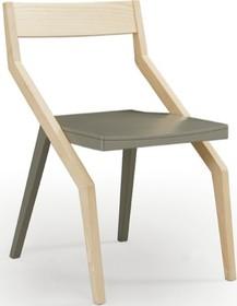 Oryginalne krzesło ZED® to nowość przedstawiona w najnowszym katalogu włoskiej firmy meblarskiej NATISA.<br />Stworzony z drewna mebel podzielony...