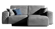 Nowoczesna, tapicerowana sofa CHARLIE o długości całkowitej 222 cm.<br />Sofa posiada dwa siedzenia o szerokości 90 cm, które można...