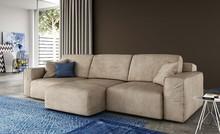 Nowoczesna, tapicerowana sofa trzyosobowa CHARLIE o długości całkowitej 252 cm.<br />Sofa posiada trzy siedzenia o szerokości 70 cm, które...