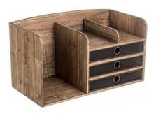 Nowoczesna, drewniana komódka z trzema szufladami. Stylowy i funkcjonalny mebel o niezwykłym designie, obok którego nikt nie przejdzie...