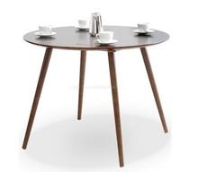 Drewniany, okrągły stół TILIA dąb palonu