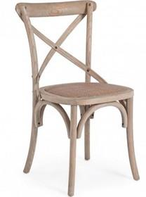 Stylizowane, piękne krzesło vintage w kolorze naturalnego drewna.<br />Struktura z drewna wiązu, siedziska wypełnione poliuretanem, pokryte...