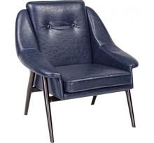 Fotel MAG - niebieski