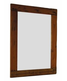 Drewniane, solidne lustro wykonane w stylu modern country pochodzi z najnowszego katalogu Bizzotto.<br />Klasyczne lustro posiada wymiary 80x110...