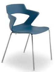 ZENITH ZN001 jest krzesłem konferencyjnym. Posiada stalową ramę z czterema nogami dostępnymi w dwóch kolorach- chromowane bądź lakierowane na...