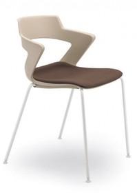 ZENITH ZN051 jest krzesłem konferencyjnym. Posiada stalową ramę z czterema nogami dostępnymi w dwóch kolorach- chromowane bądź lakierowane na...
