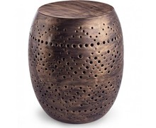 Oryginalny, nowoczesny stolik MEL w kolorze mosiądz to nowość w naszym sklepie, pochodząca z kolekcji mebli wykonanych w stylu fusion z najnowszego...