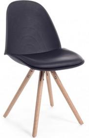 Stylowe krzesło CHEL w kolorze czarnym pochodzące z najnowszego katalogu Bizzotto.<br />Siedzisko oraz oparcie wykonane z polipropylenu, poduszka...