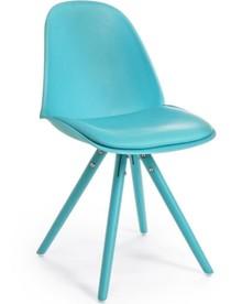 Krzesło CHEL - niebieski