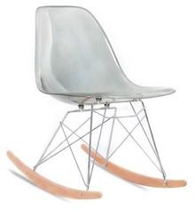 Krzesło bujane MPC ROC - dymiony