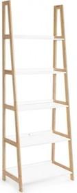 Stylowy regał z pięcioma półkami BRO to produkt z najnowszego katalogu Bizzotto.<br />Struktura z drewna bambusowego, lakierowane na biało...