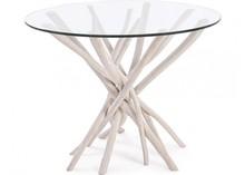 Oryginalny, okrągły stół o średnicy 110 cm SAH. Mebel pochodzi z najnowszego katalogu Bizzotto.<br />Stół posiada strukturę z...