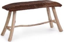 Oryginalna, tapicerowana ławka MAL. Mebel pochodzi z najnowszego katalogu Bizzotto.<br />Ławka posiada strukturę z drewna tekowego oraz tapicerowane,...