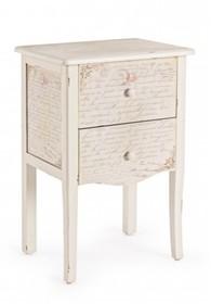 Stylowa, romantyczna szafka nocna WOR pochodząca z najnowszego katalogu Bizzotto.<br />Szafka posiada dwie szuflady. Jej nazwa jest skrótem od...