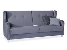 WYMIARY powierzchnia spania: 190 x 126 cm wersalka: 226 x 86 x 100 cm  DANE TECHNICZNE Wykonanie: Stelaż drewniany, w siedzisku zastosowano...