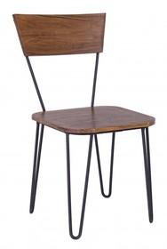 Krzesło EDG - brązowy