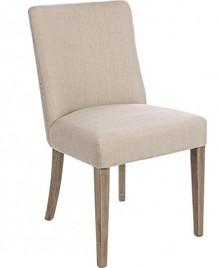 Tapicerowane krzesło BEAT z najnowszego katalogu Bizzotto.<br />Krzesło posiada dębową strukturę, oparcie z siedziskiem tapicerowane jest tkaniną....