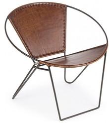 Fotel SAN - brązowy