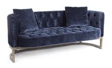 Sofa 3-osobowa MIDWAY - granatowy