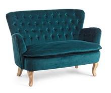 Sofa dwuosobowa ORL - turkusowy