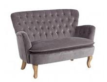 Sofa dwuosobowa ORL - szary