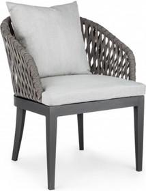 Krzesło ogrodowe PELI - antracyt