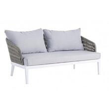 Sofa dwuosobowa PELI - biały