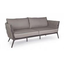 Sofa ogrodowa XIL - szary