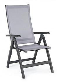 Krzesło składane CRU CHARCOAL - czarny