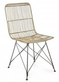 Krzesło ogrodowe LUC - naturalny