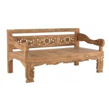 Piękna, drewniana ławka MAL przeznaczona do użytku zarówno wewnętrznego jak i zewnętrznego.<br />Mebel wykonany z solidnego drewna tekowego...