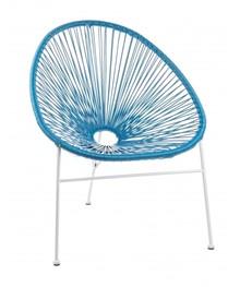 Krzesło ogrodowe DORO - niebieski