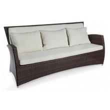 Sofa ogrodowa 3 osobowa ANTA - brązowy