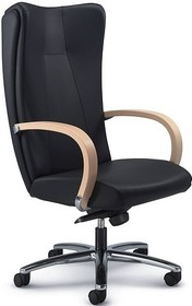 KIRIA 161 to wspaniały włoski obrotowy fotel biurowy. Jego podstawa to krzyżak na kółkach. Oparcie i siedzisko wykonane są ze sklejki bukowej...