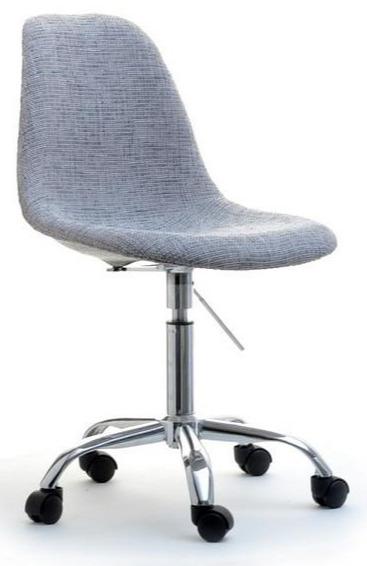 Mebel Partner Obrotowe Krzesło Tapicerowane Tkaniną Mpc Move