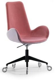 Fotel biurowy na kółkach z wysokim oparciem dalia pa D