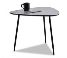Stolik kawowy ROSIN S - beton/czarny